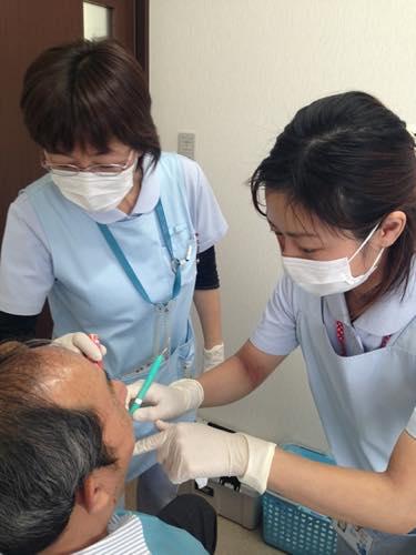 歯ぐきの骨がなくなる恐ろしい病気です