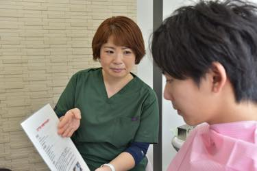 歯科衛生士による専門治療